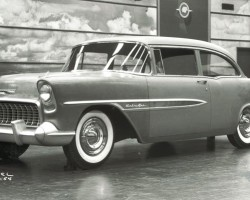 1957 1955 1956 1954 Chevrolet styling proposal
