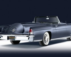 1957 Lincoln Continental Mark II convertible rear view