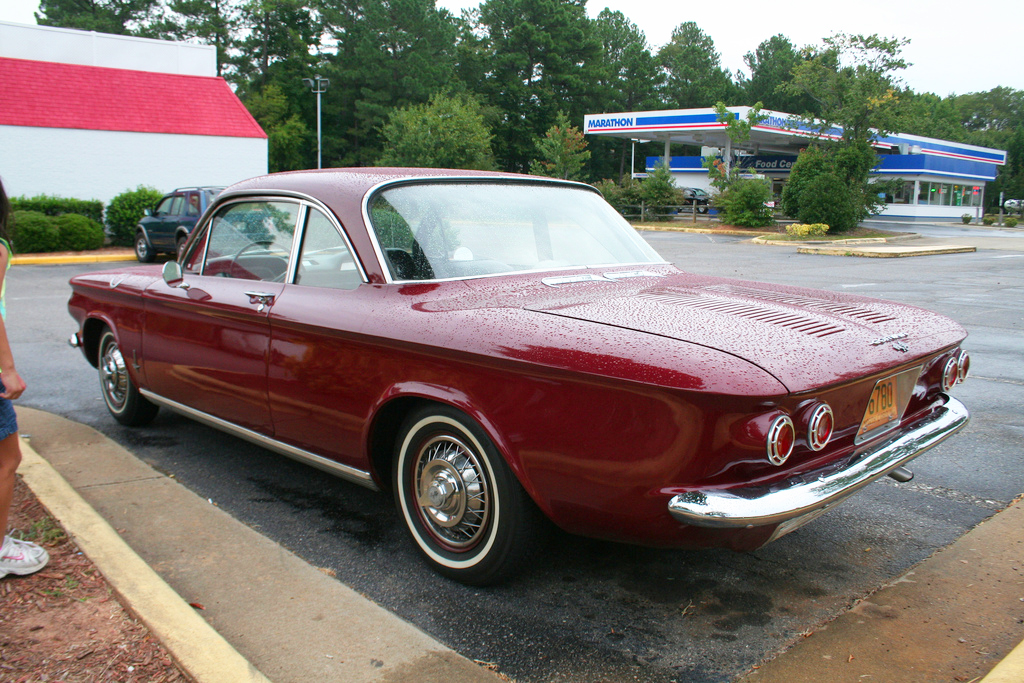 1962 Chevrolet Corvair With Wire Wheel Covers