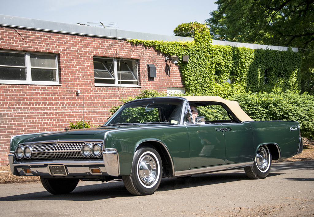 1963 lincoln continental convertible classic cars today online. Black Bedroom Furniture Sets. Home Design Ideas