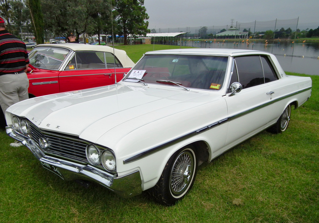 1964 Buick Skylark with 14-inch wire wheel covers