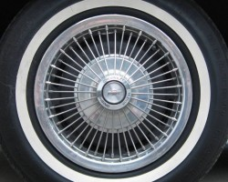 1967 Chevrolet wire wheel cover