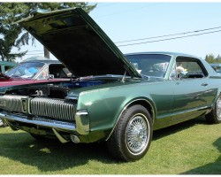 1967 Mercury Cougar wire wheel covers
