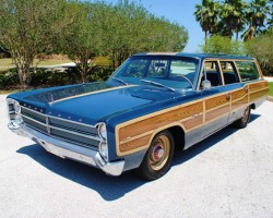 1967 Plymouth Fury painted woodgrain