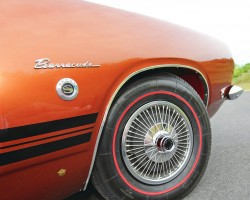 1968 Plymouth wire wheel cover