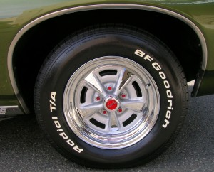 1968 Pontiac Lemans Rallye Ii Wheel At The Summit Downtown