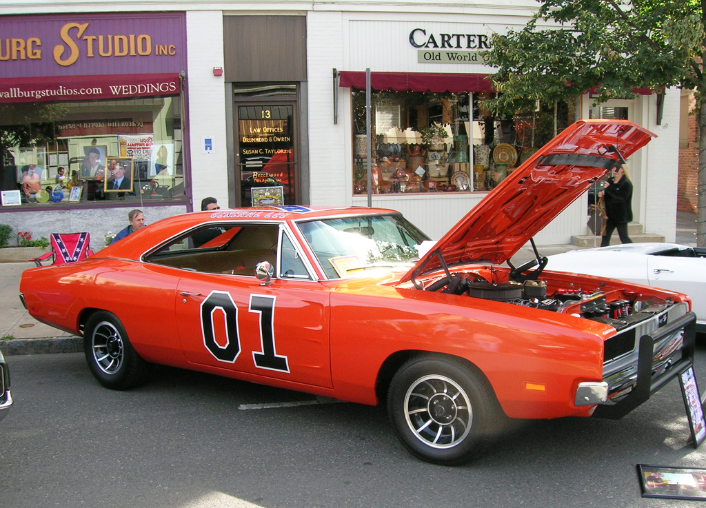 Dodge Charger General Lee At The Summit Downtown Car Show Sept - Summit car show