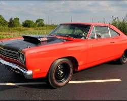 orange 1969 Plymouth Road Runner