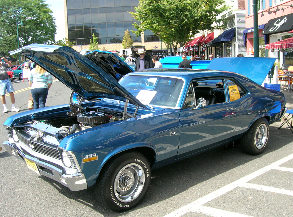 Chevrolet Nova SS At The Summit Downtown Car Show Sept - Summit car show