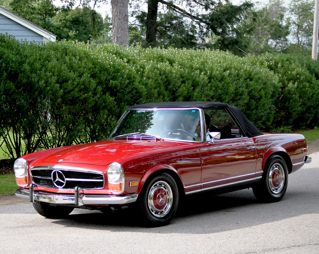 1970 mercedes 280sl classic cars today online. Black Bedroom Furniture Sets. Home Design Ideas