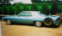 1971 Buick electra 6 wheels