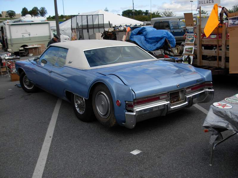 1971 buick electra with a third drop axle