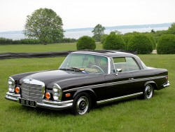 1971 mercedes 280se coupe
