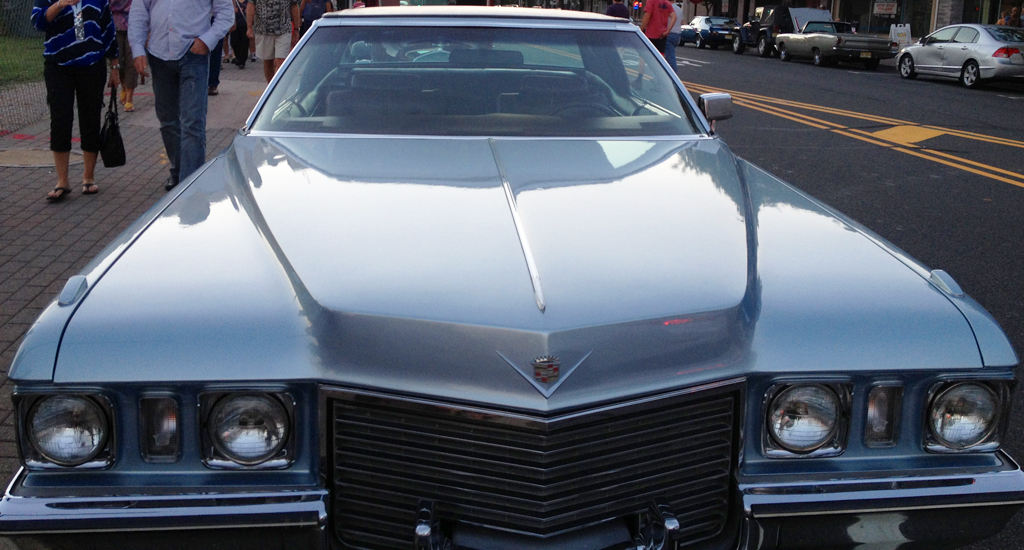 1972 cadillac front end