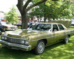 1972 Chevrolet Impala wire wheel covers