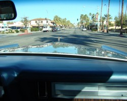 1978 Lincoln Mark V hood view