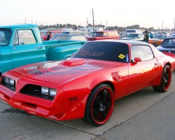 red 1978 Pontiac Trans Am 6.6