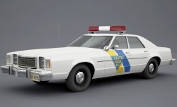 1979 ford ltd ii police car