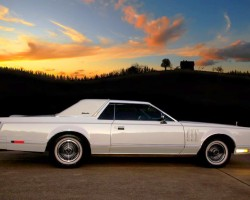 1979 Lincoln Mark V Collectors Series white