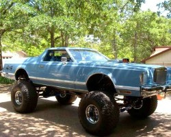 Lincoln Mark V 4x4 monster truck