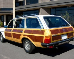 Mercedes woodie woody wagon