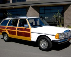Mercedes woody woodie wagon