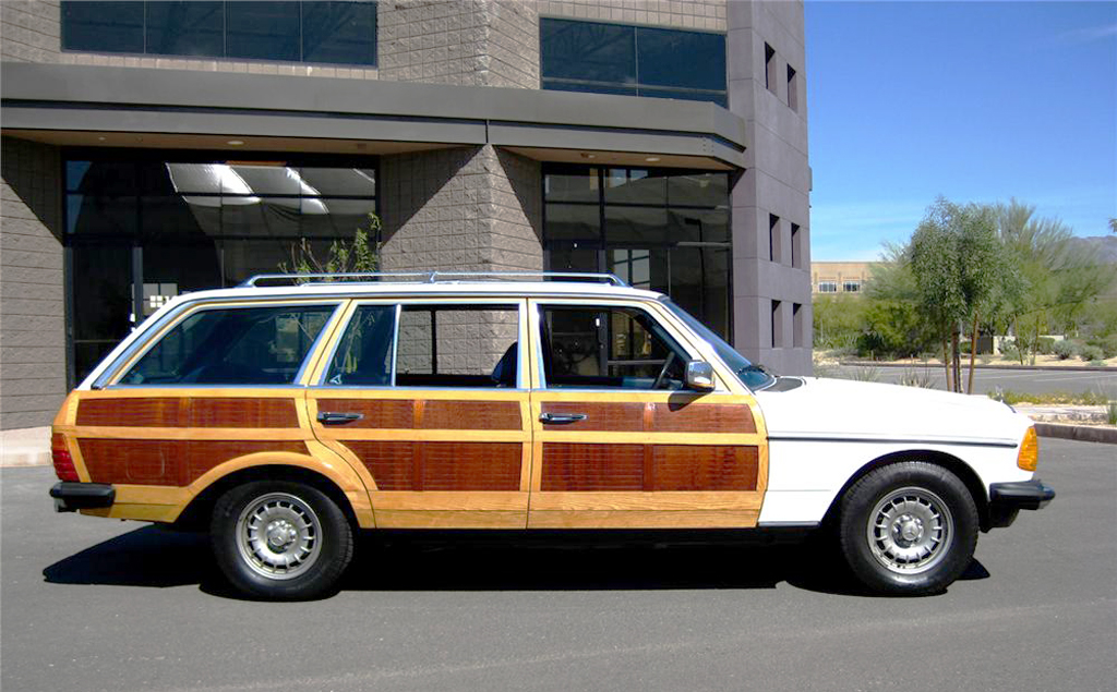 "1979 Mercedes 250T ""woodie"" wagon 
