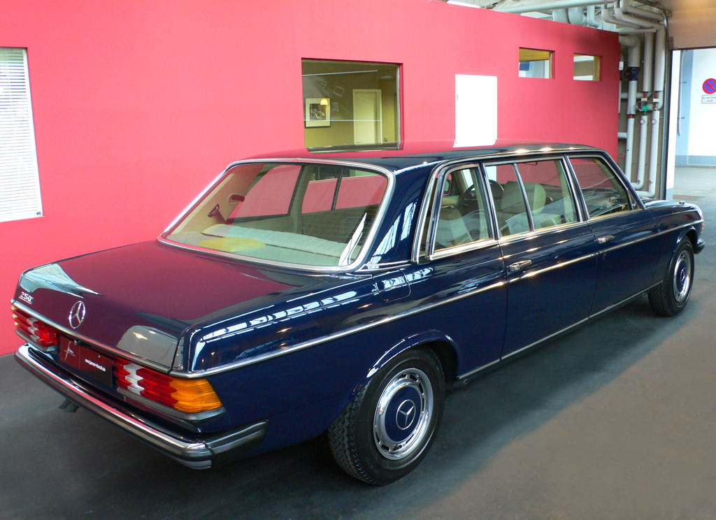1980 Mercedes 250 Factory Limosine Classic Cars Today Online