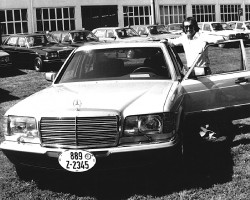 Emerson Fittipaldi 1981 mercedes 500sel