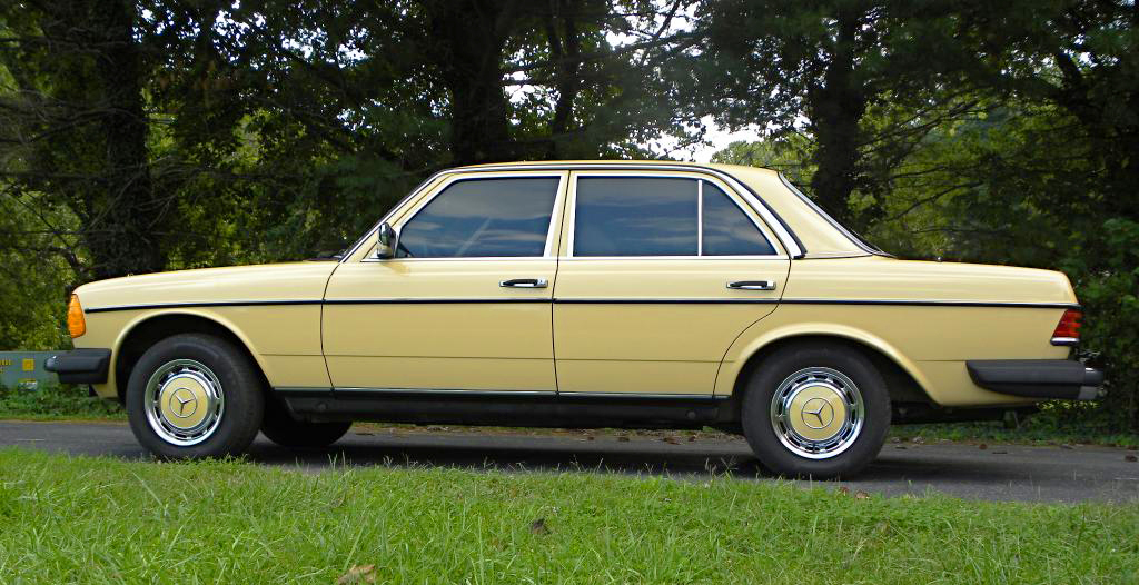 1985 mercedes 300d side view classic cars today online for 1985 mercedes benz 300d