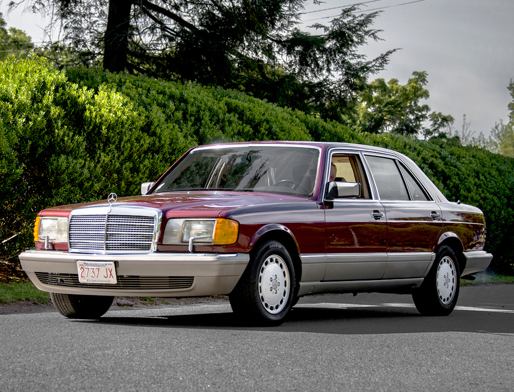 1988 mercedes 420sel side view classic cars today online for 1988 mercedes benz 560sel