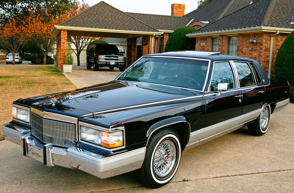 1991 Cadillac Fleetwood Brougham Black B Classic Cars Today Online