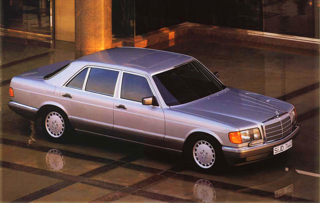 1991 Mercedes 300sel Classic Cars Today Online