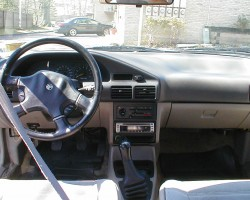 1991 Mercury Tracer interior