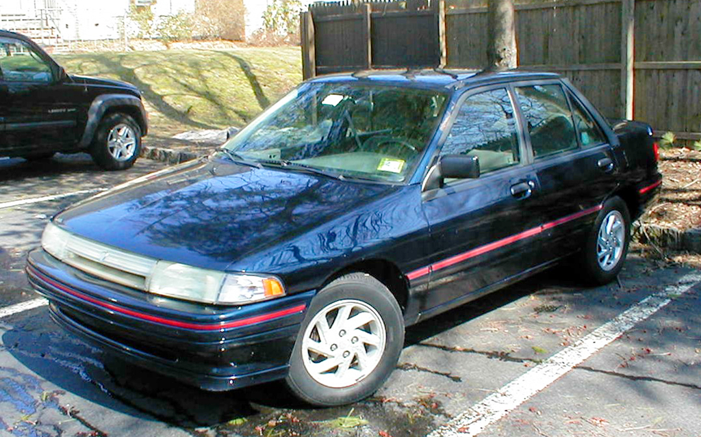 1991 Mercury Tracer LTS (1024 x 639) | CLASSIC CARS TODAY ONLINE: www.classiccarstodayonline.com/article-guide-by-pictures/olympus...
