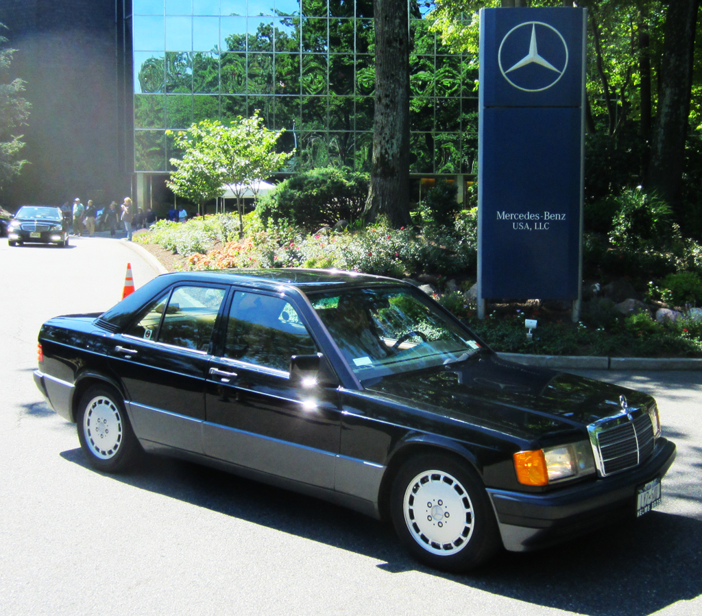 1992 Mercedes 190E 2.6 at the Montvale June Jamboree