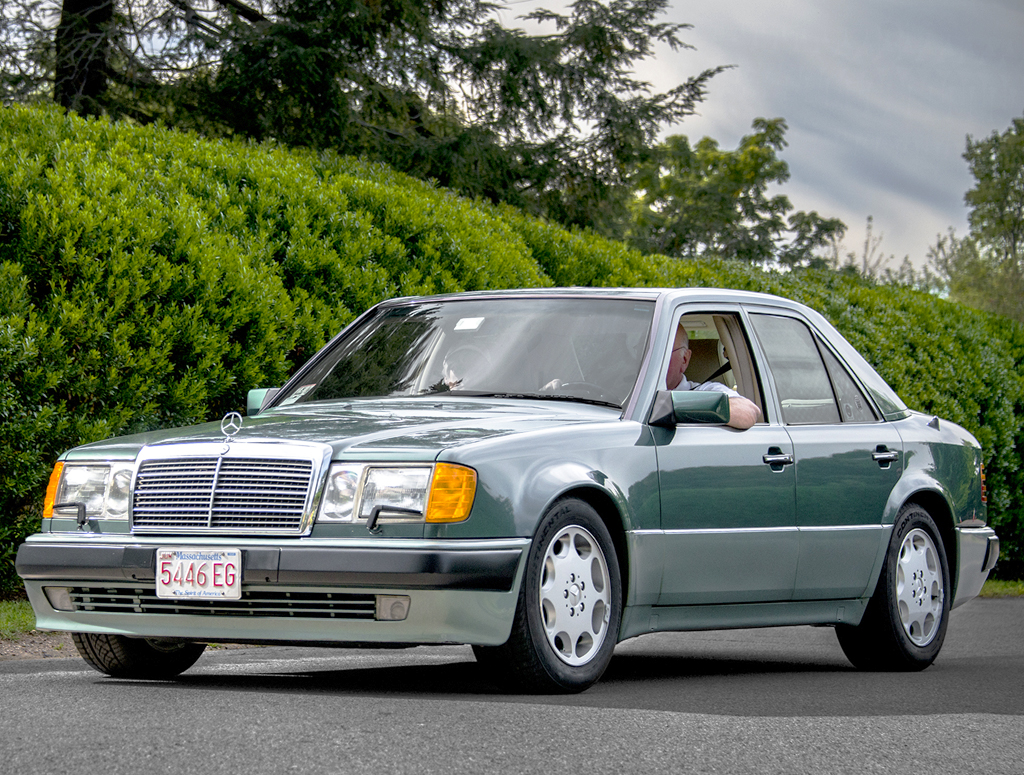 1993 mercedes 500e left front view classic cars today online for Mercedes benz 500 e