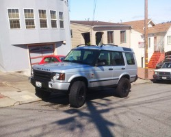2003 land rover discovery 16-inch wheels