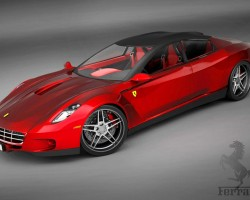 Ferrari 4 door & Some interesting four-door sports cars and exotic cars over the ...