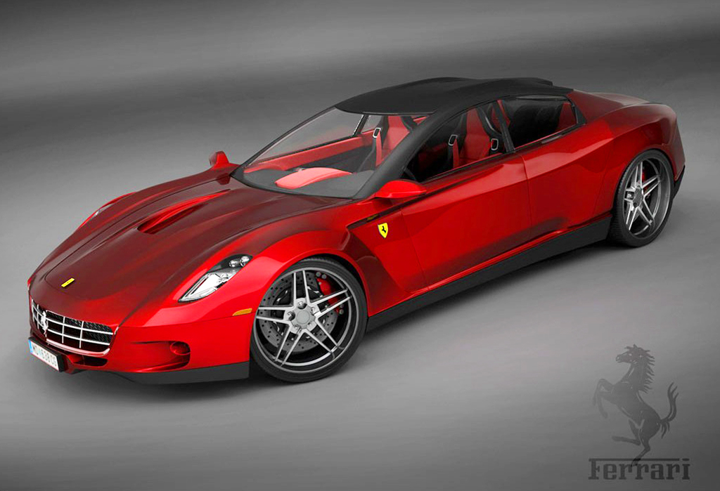 2008 ferrari 4 door concept classic cars today online. Black Bedroom Furniture Sets. Home Design Ideas