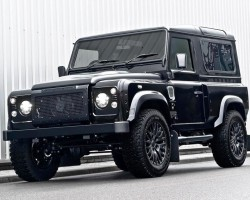 2013 Land Rover Defender Harris Tweed edition