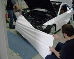 automotive vinyl wrapping