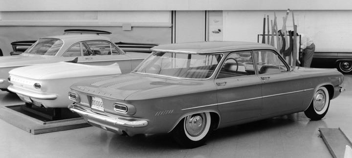 Pontiac Compact Prototype Based On The Chevrolet Corvair