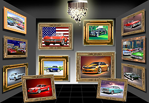 automotive art gallery, car gallery, car pictures