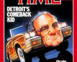 Time Magazine Lee Iacocca chrysler convertible