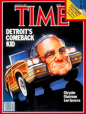 1983 Time magazine Lee Iacocca