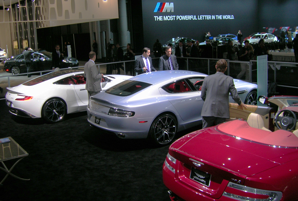 2013 Aston Martin stand at the 2013 New York Auto Show | CLASSIC CARS TODAY ONLINE