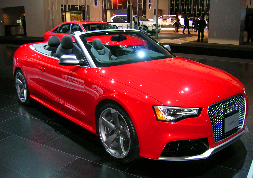 2014 Audi Rs5 Convertible At The 2013 New York Auto Show Classic Cars Today Online