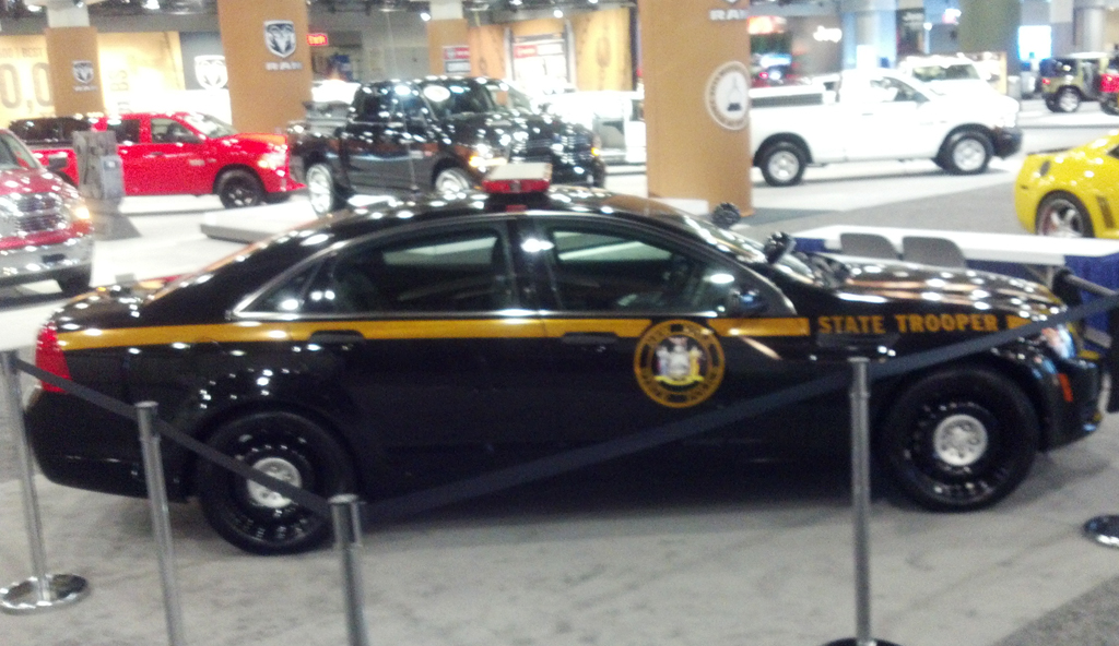 2013 Chevrolet Caprice police vehicle at the 2013 New York ...