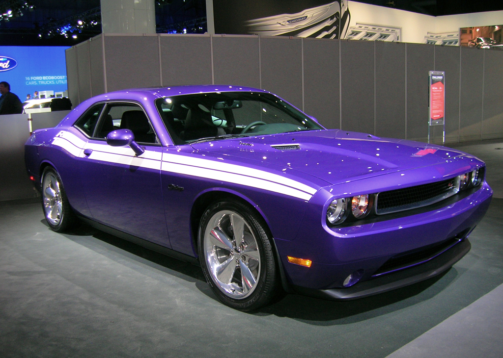 2013 Dodge Challenger Hemi At The 2013 New York Auto Show